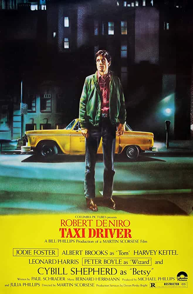 Taxi Driver Official Poster