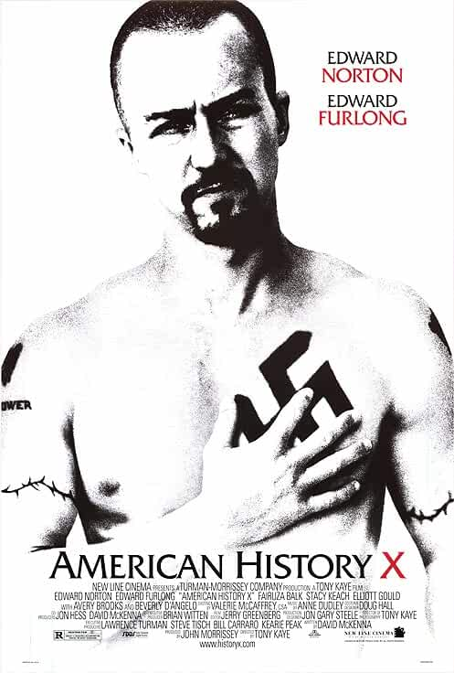 American History X 1995 official poster
