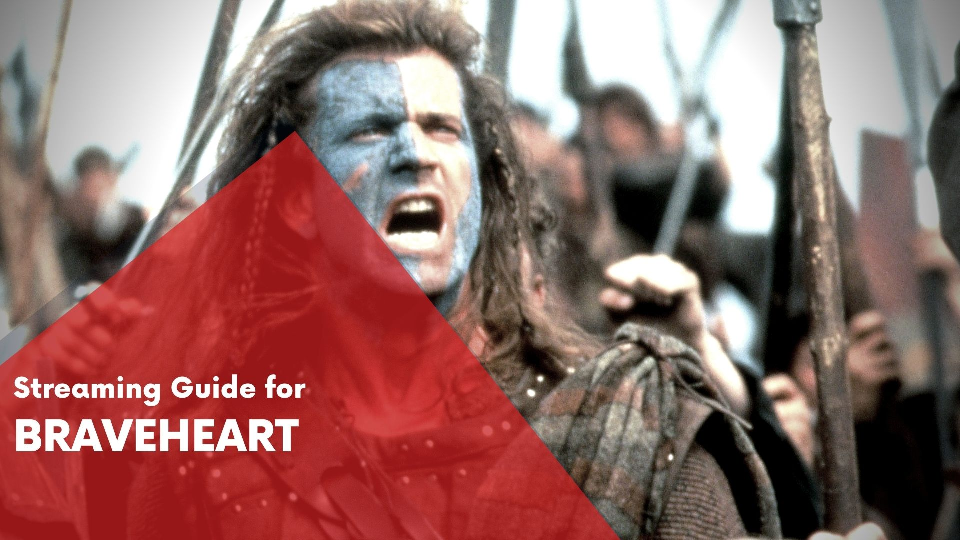 Answering if Braveheart can be watched online on Hulu