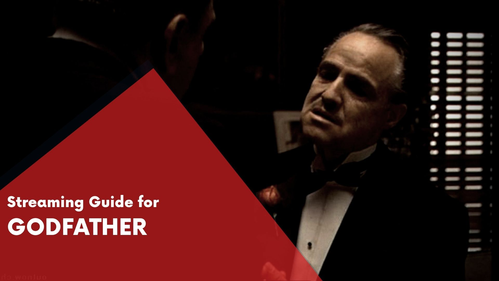 Answering if Godfather can be watched online on Hulu