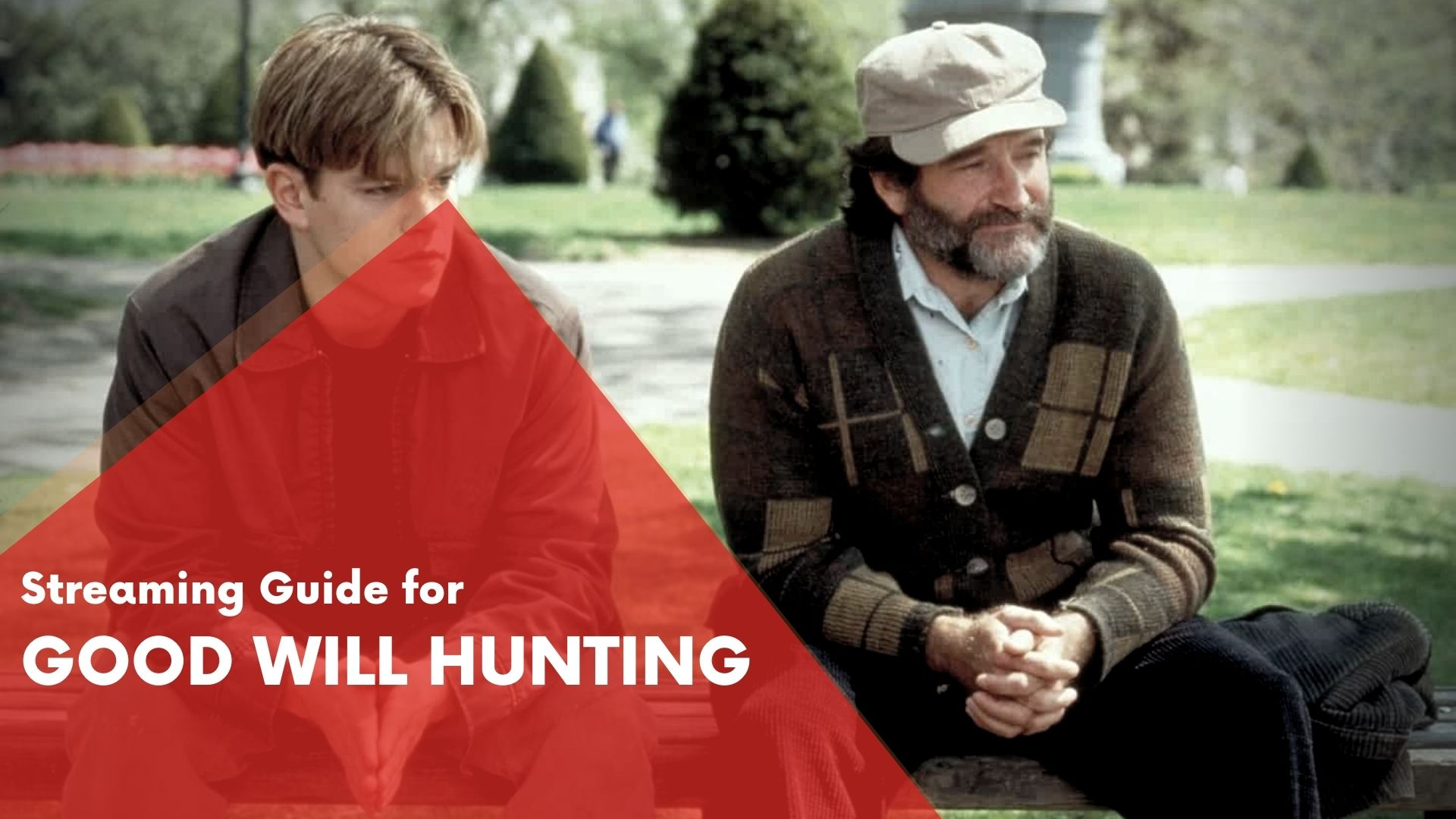 Answering if Good Will Hunting can be streamed on Hulu