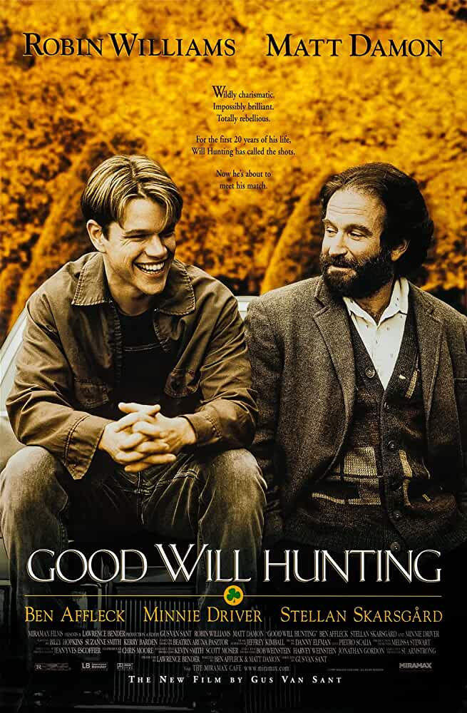 Good Will Hunting Official Poster