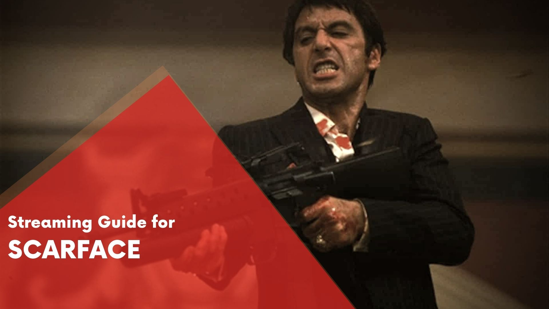 Answering if Scarface can be streamed on Hulu