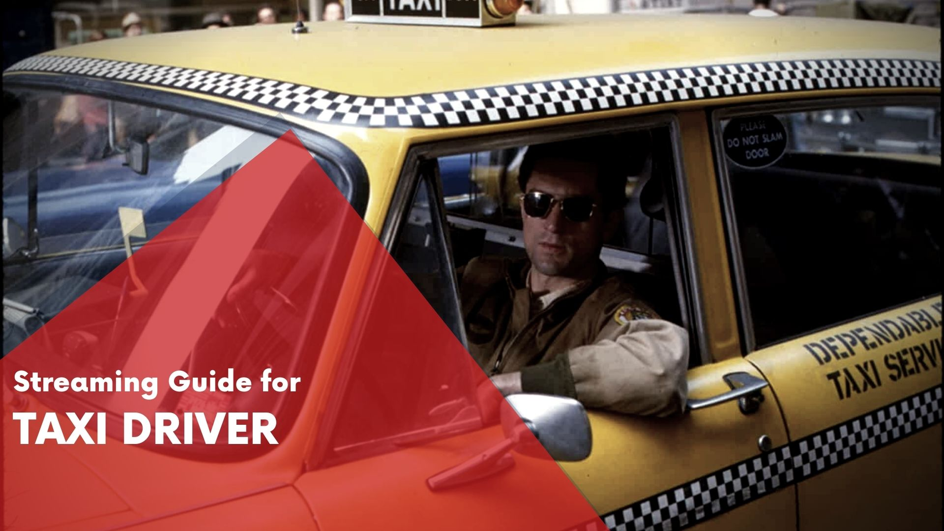 Taxi Driver Streaming Guide 1
