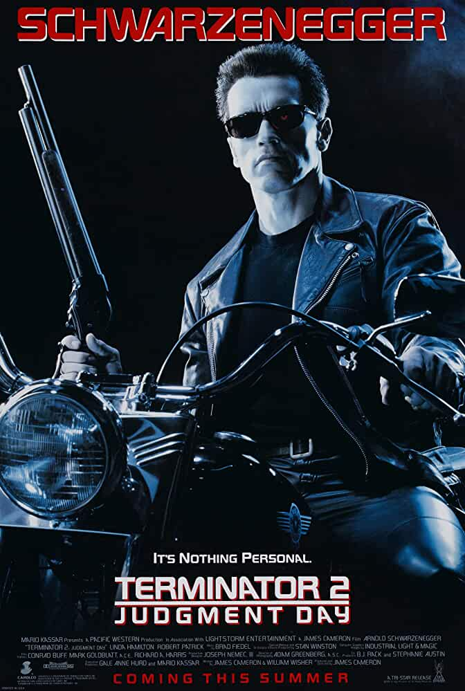 Terminator 2: Judgment Day Official poster