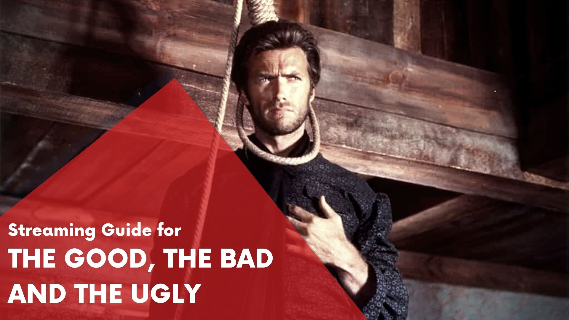 Answering if The Good the Bad and the Uglyc an be watched online on Hulu