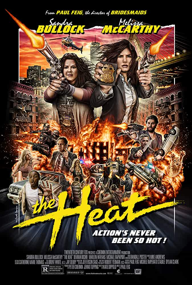The Heat Official Poster