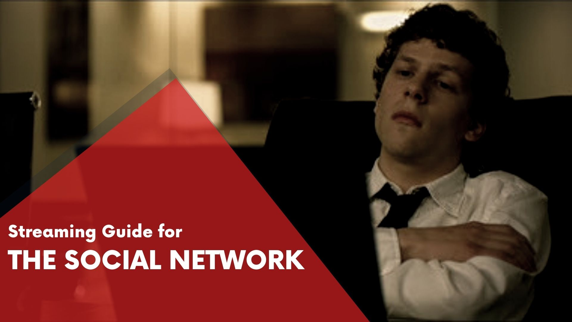 Answering if The Social Network can be watched online on Hulu