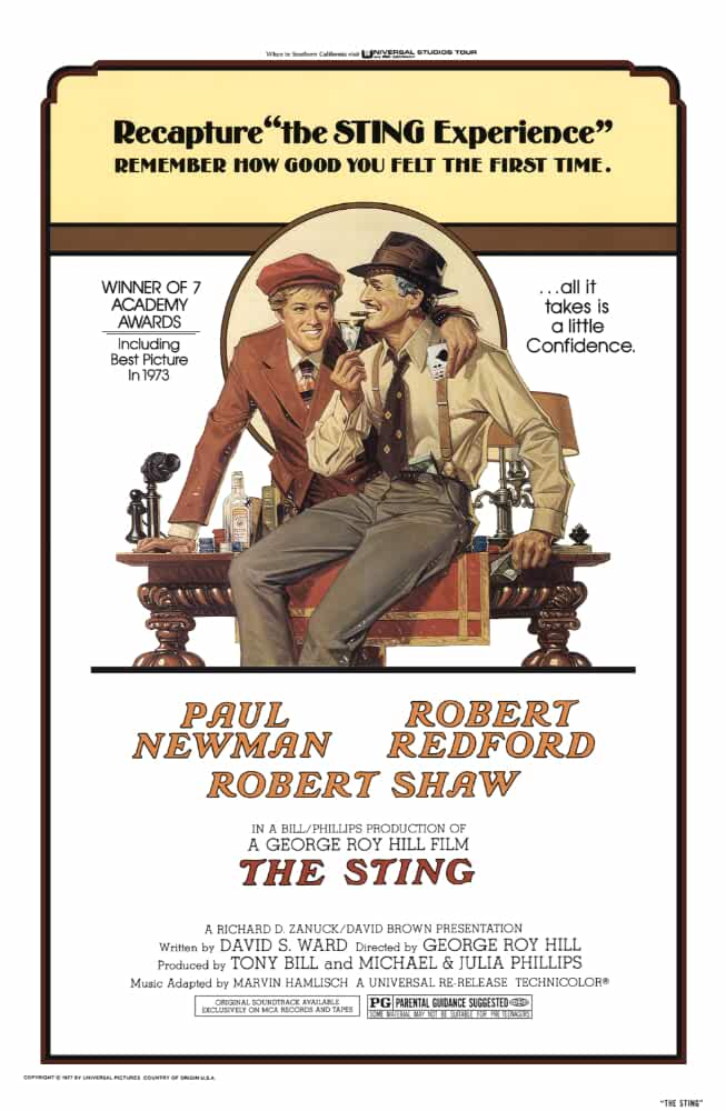 The Sting Official Poster
