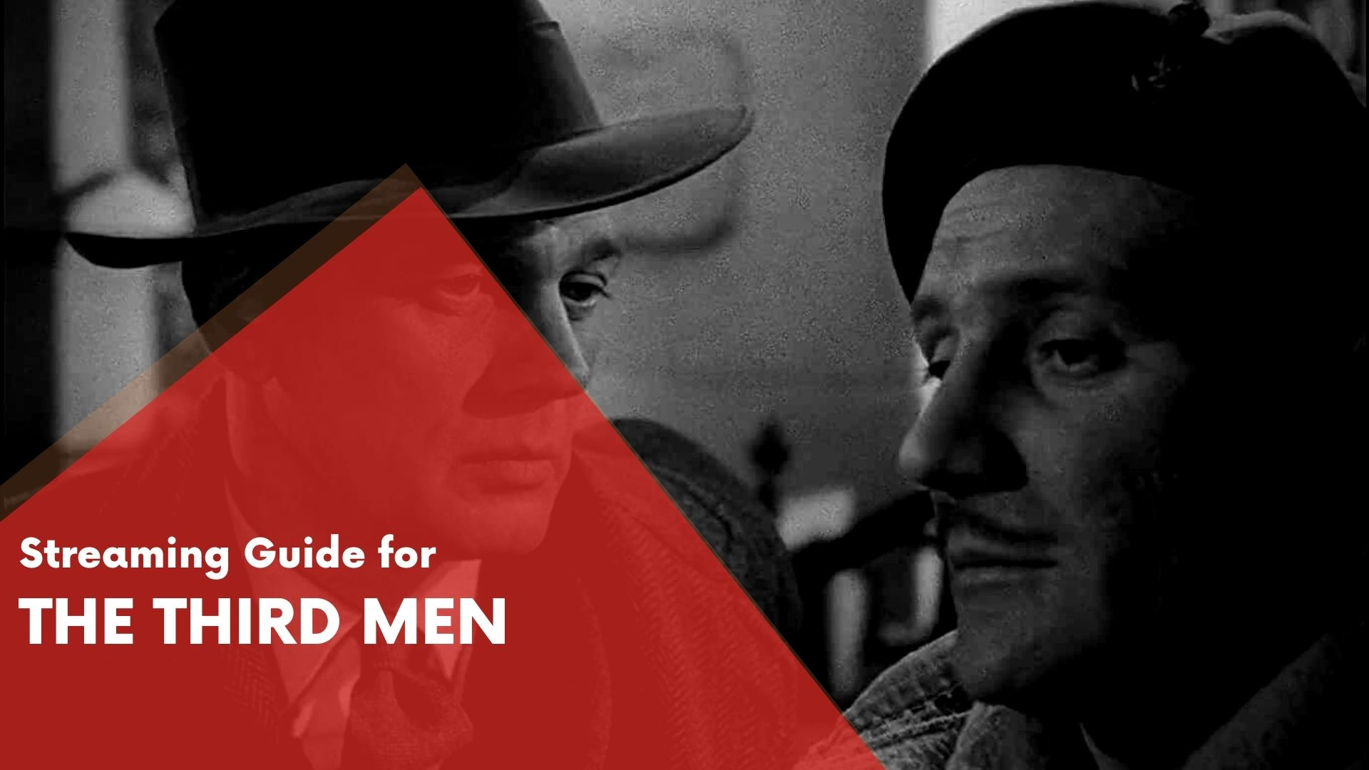 Answering if The Third Men Can be streamed on Hulu