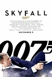 official poster of skyfall