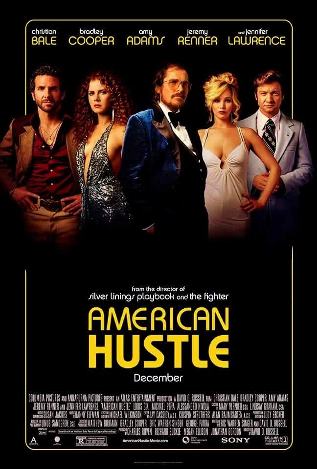 American Hustle Official Poster