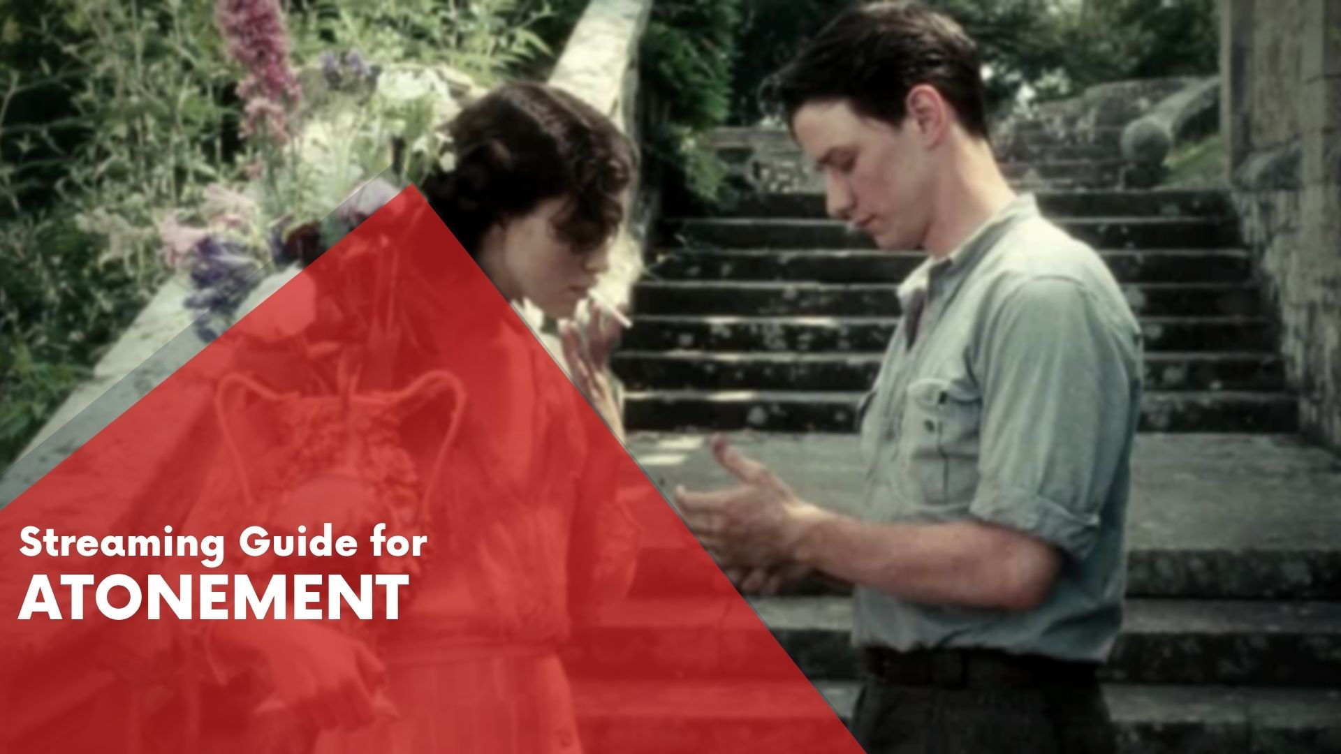 Answering if Atonement is available on Hulu