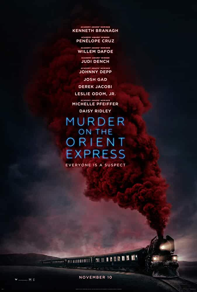 Murder on the Orient Express Official Poster