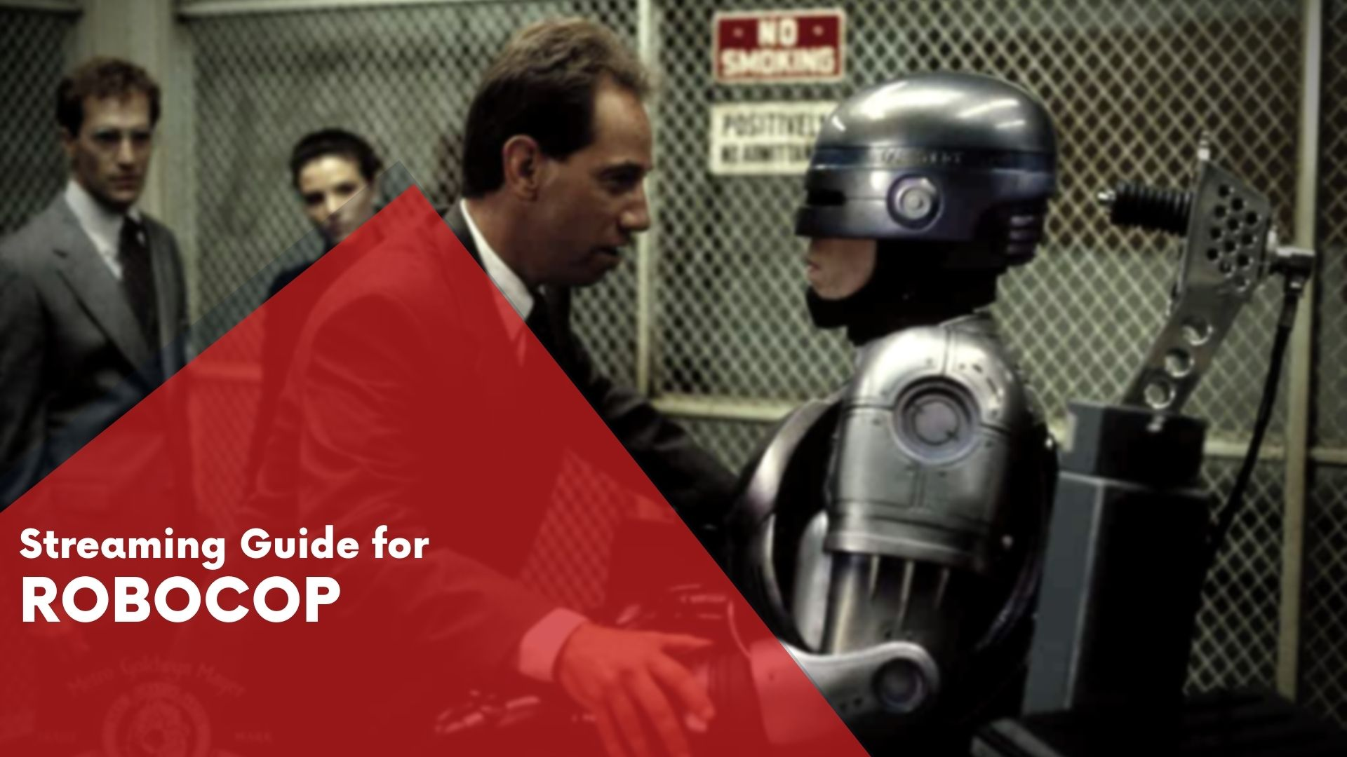 Answering if Robocop is available on Hulu
