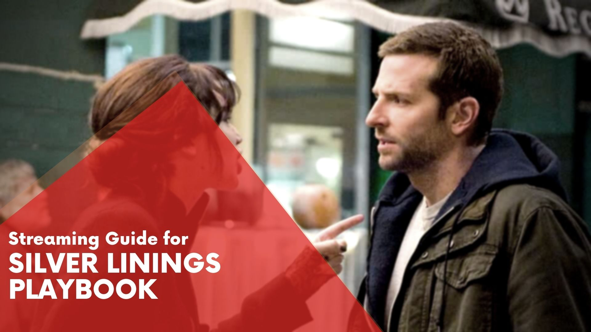 Answering if Silver Linings Playbook is available on Hulu