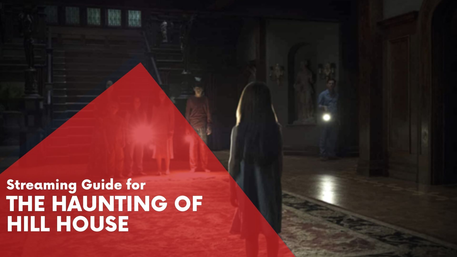 Answering if The Haunting of Hill House is available on Hulu