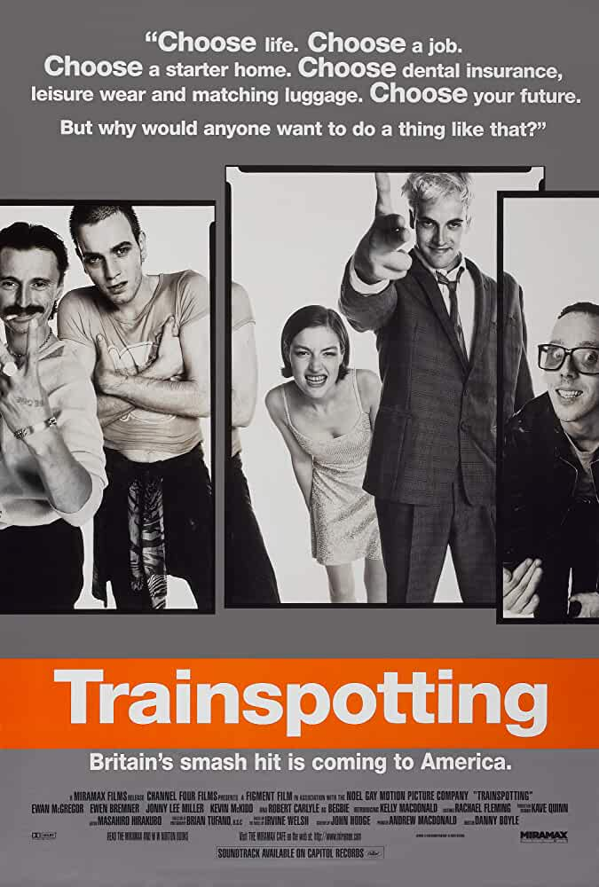 Trainspotting Official Poster