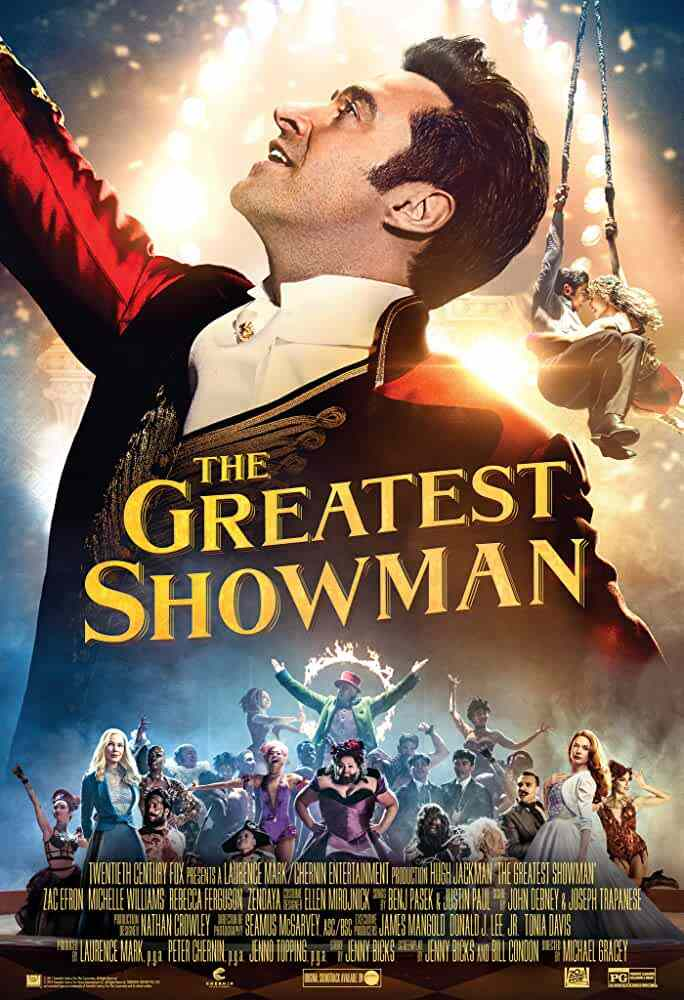 The Greatest Showman Official Poster