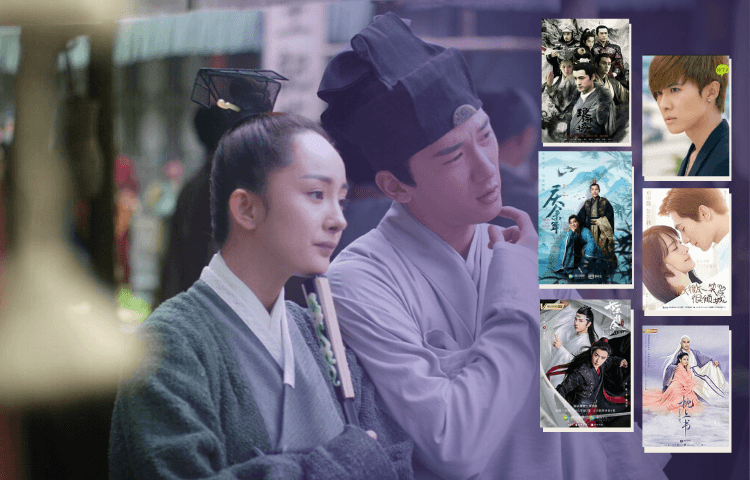 highlights from list of 35 best Chinese drama