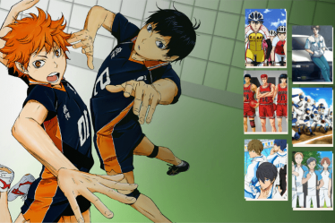 Highlights from best sports anime